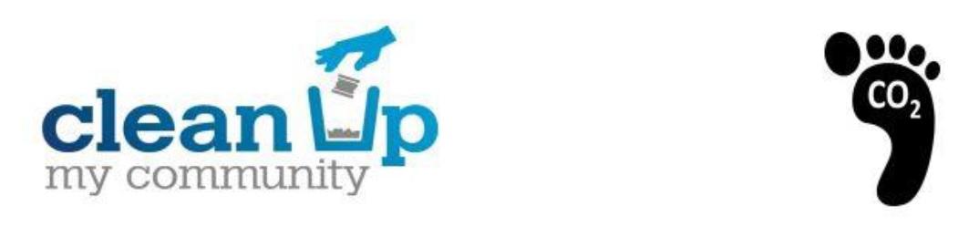 clean up my community logo